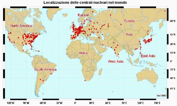 Le note dolenti dell'energia nucleare sono presenti a tutti livelli